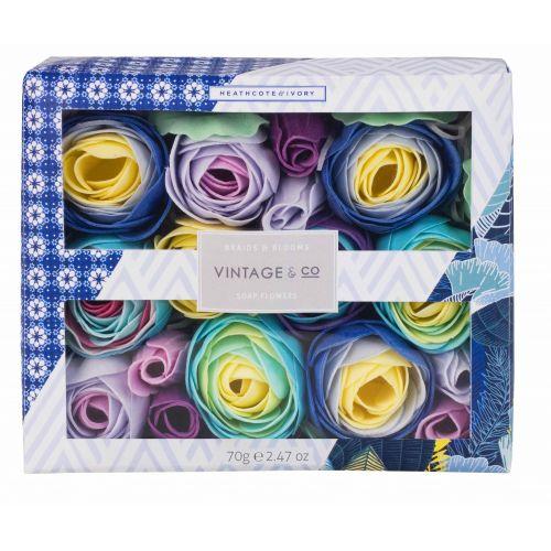 HEATHCOTE & IVORY / Mydlové kvety do kúpeľa Braids & Blooms