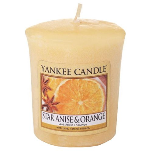 Yankee Candle / Votívna sviečka Yankee Candle - Star Anise & Orange