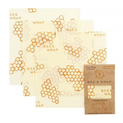 Bee's Wrap / Ekologický potravinový obrúsok Medium-3ks