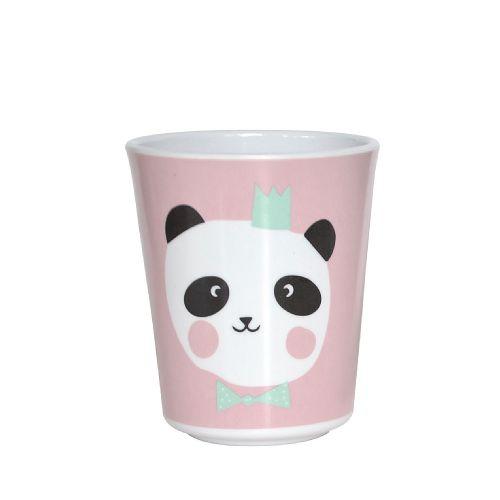 EEF lillemor / Melaminový hrnček pre deti Pink King Panda