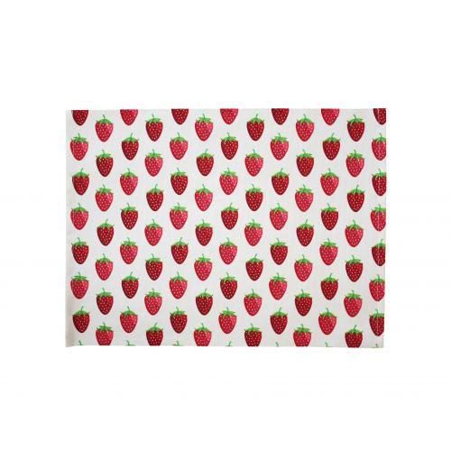 Krasilnikoff / Bavlnené prestieranie Strawberry