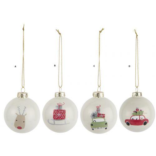 IB LAURSEN / Vianočná ozdoba Pattern Christmas