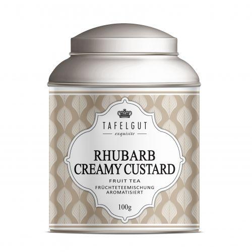 TAFELGUT / Ovocný čaj Rhubarb Creamy Custard - 100gr