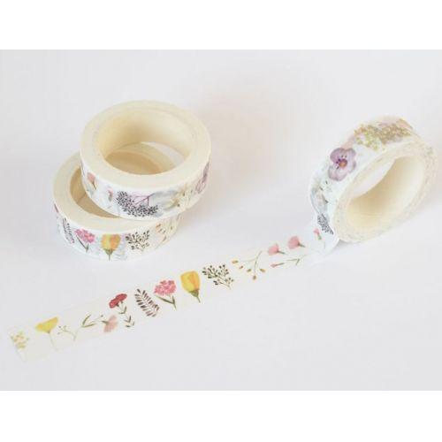 MANKAI Paper / Papírová lepicí páska Japonská zahrada