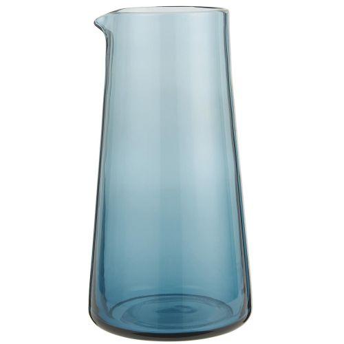 IB LAURSEN / Sklenená karafa Glass Blue 1L