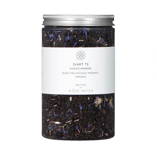ADD:WISE / BIO čierny čaj s kokosom, ananásom a nevädzou 120 g