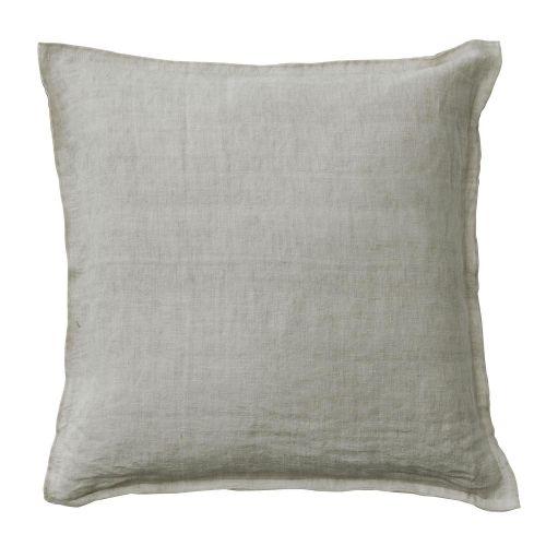 BUNGALOW / Ľanová obliečka na vankúš Sand 50x50 cm