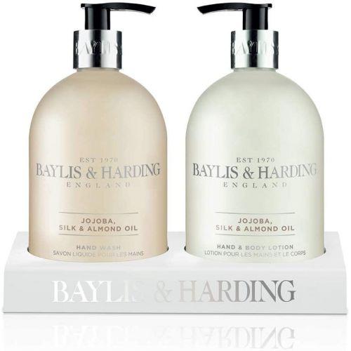 Baylis & Harding / Sada pre starostlivosť o ruky Jojoba, Vanilla and Almond Oil