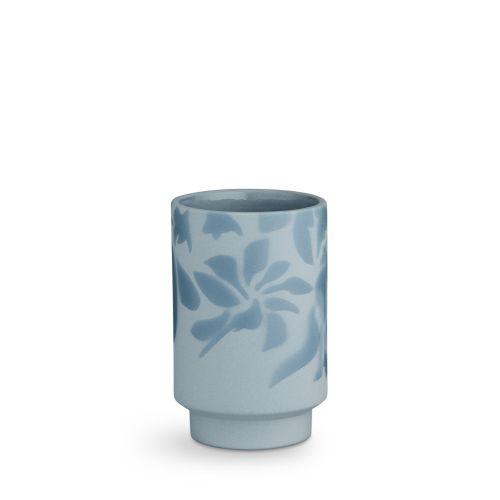 KÄHLER / Keramická váza Kabell Dusty Blue 12,5 cm