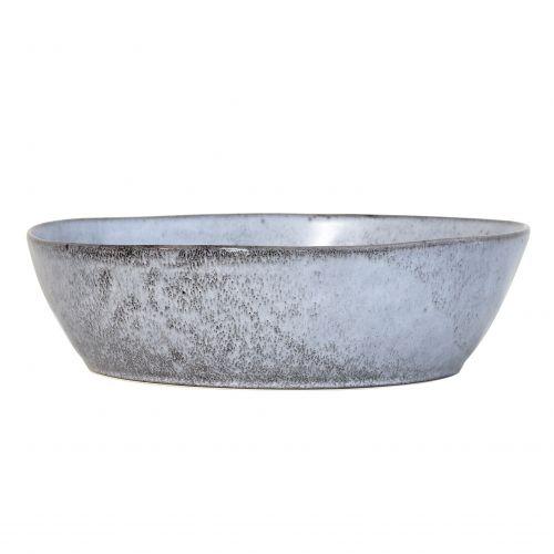 HK living / Keramická misa Rustic Grey 27 cm