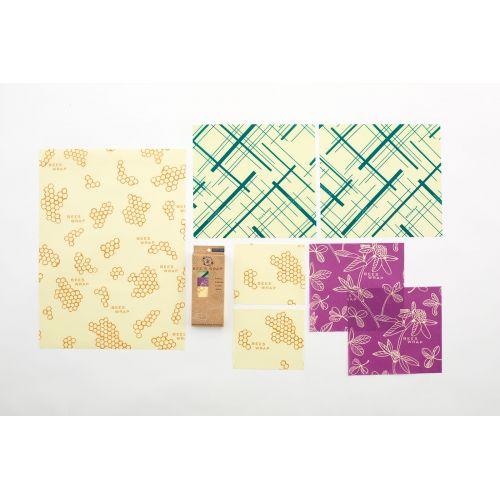Bee's Wrap / Set ekologických obrúskov - 7ks