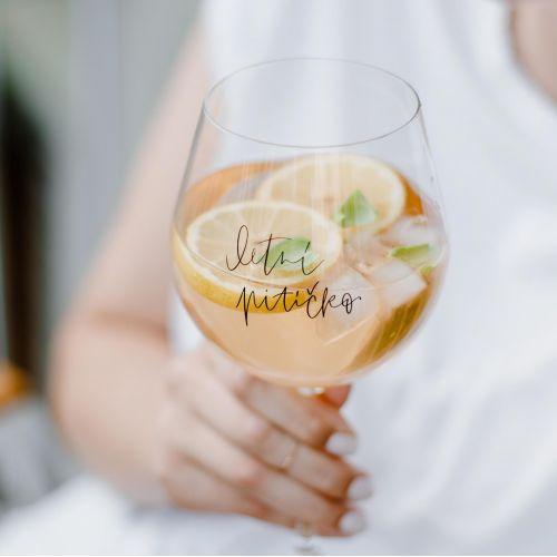 Bella Rose / Pohár na drink Letní pitíčko