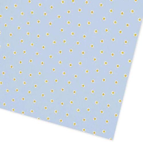Ohh Deer / Baliaci papier Blue Daisies 50 x 70 cm