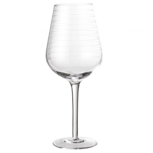 Bloomingville / Pohár na víno Line Clear