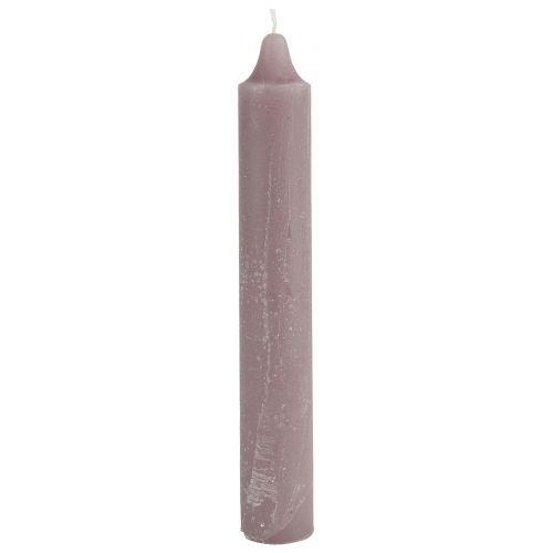 IB LAURSEN / Vysoká sviečka Rustic Malva 25 cm