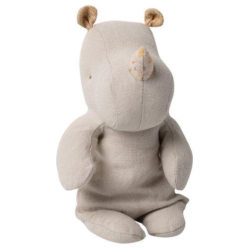Maileg / Textilný nosorožec Rhino Grey Small
