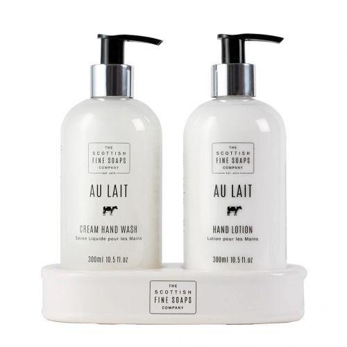 SCOTTISH FINE SOAPS / Dárkové balení kosmetiky na ruce AU LAIT