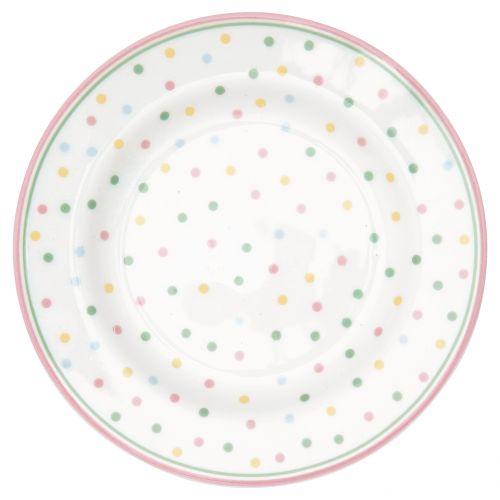 GREEN GATE / Porcelánový tanierik Bonnie White
