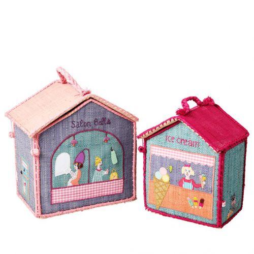 rice / Detský úložný box Raffia House