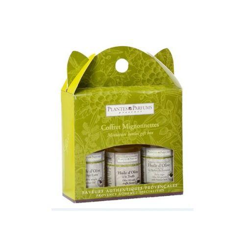 PLANTES ET PARFUMS provence / Darčekové balenie olivových olejov - 3 x 40 ml