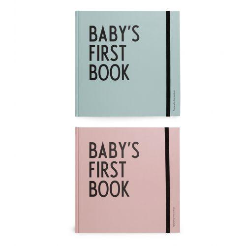 DESIGN LETTERS / Denník bábätka Baby 's First Book