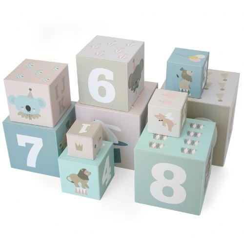 EEF lillemor / Náučné papierové kocky Circus - set 10 ks