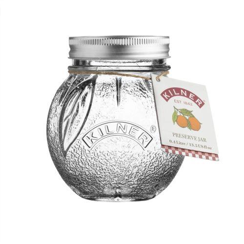 KILNER / Pohár na marmeládu Orange 0,4 l