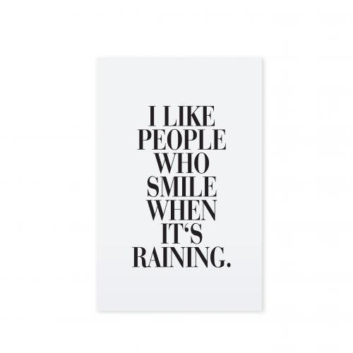 TAFELGUT / Pohlednice I like people