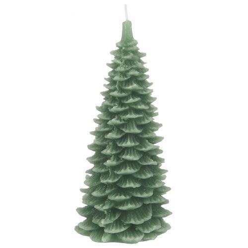 IB LAURSEN / Vianočná sviečka Christmas Tree Green 20 cm