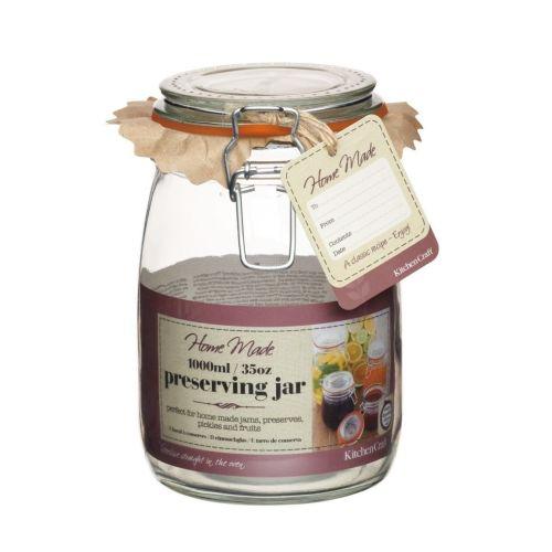 Kitchen Craft / Zavárací pohár s klipsom 1 L