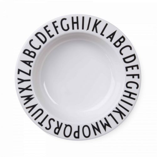 DESIGN LETTERS / Detský hlboký tanierik Letters