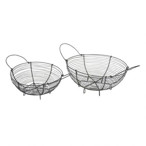 Krasilnikoff / Kovový košík na pečivo