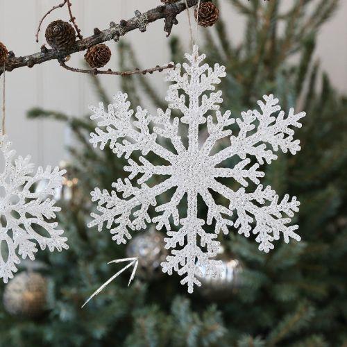 Chic Antique / Vianočná ozdoba Ice Crystal 20 cm