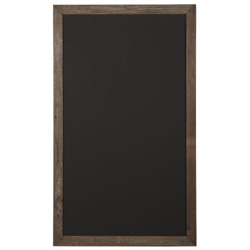 IB LAURSEN / Tabuľa v drevenom ráme Black