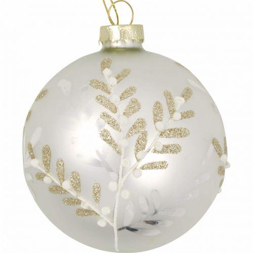 GREEN GATE / Vianočná ozdoba Antonia Silver 8 cm