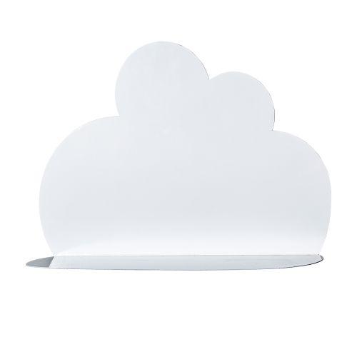 Bloomingville / Kovová polička Cloud White - menšia