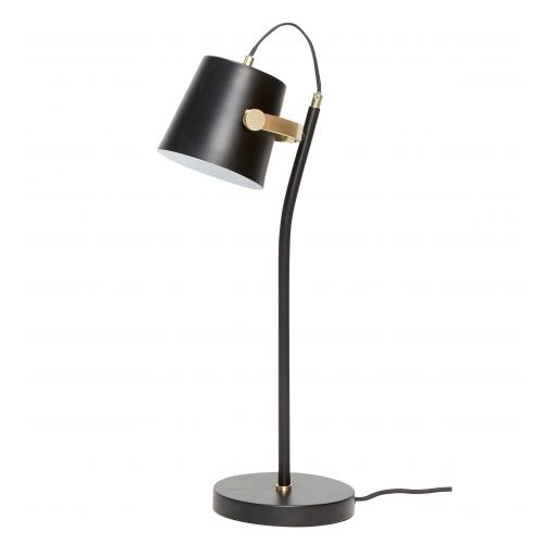 Hübsch / Stolná lampa Black/brass