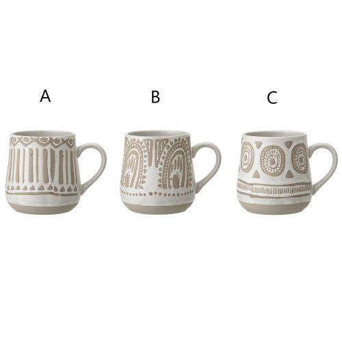 Bloomingville / Keramický hrnček Cora Mug 400 ml