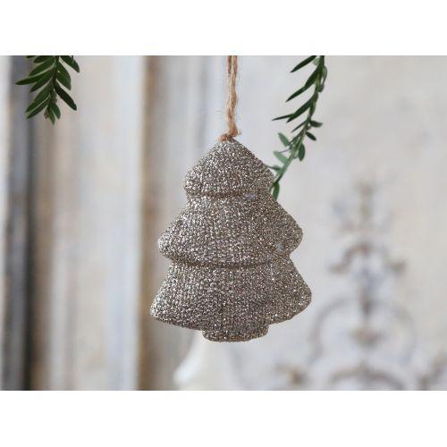 Chic Antique / Dekoratívny stromček Glitter