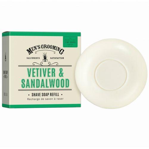 SCOTTISH FINE SOAPS / Pánske mydlo na holenie Vetiver a santalové drevo 100g