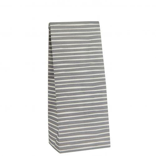 IB LAURSEN / Papierový sáčok Stripe Grey S