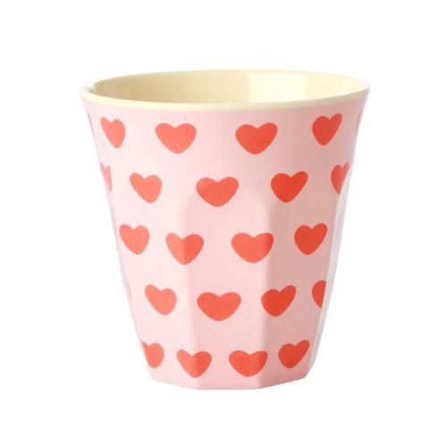 rice / Melamínový kalíšok Sweet Hearts 250 ml