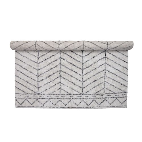 Bloomingville / Bavlnený koberec Tufting White Rug 300 x 200 cm