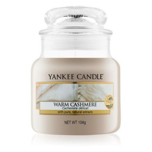 Yankee Candle / Sviečka Yankee Candle 104g - Warm Cashmere