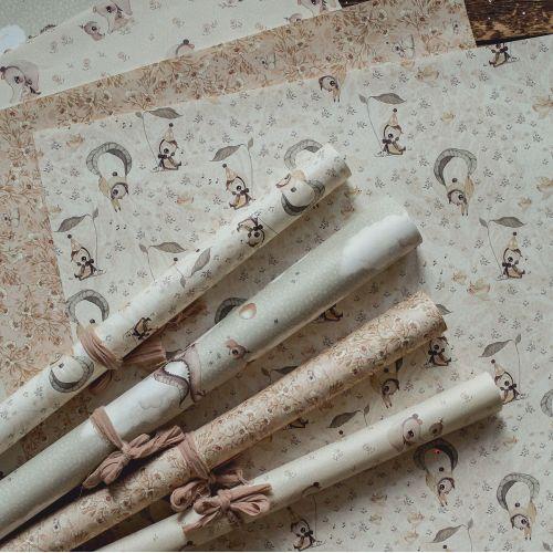MRS. MIGHETTO / Darčekový baliaci papier Baby 50×70 cm