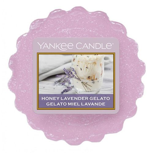 Yankee Candle / Vosk do aromalampy Yankee Candle - Honey Lavender Gelato