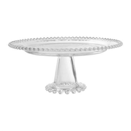 CÔTÉ TABLE / Sklenený tortový stojan Pearl