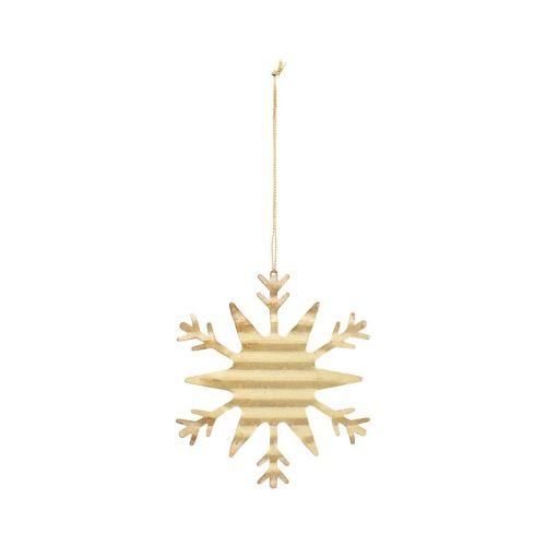 House Doctor / Vianočná ozdoba Gold Crystal