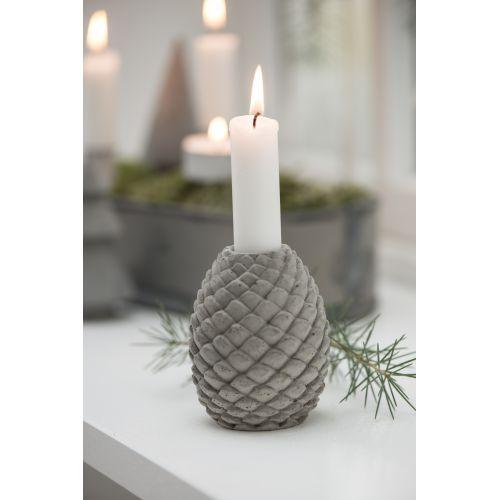 IB LAURSEN / Betónový svietnik Christmas Cone