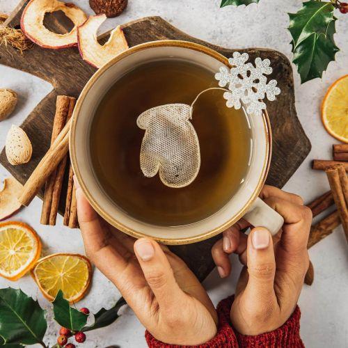 TEA HERITAGE / Vianočný čaj Snowflakes 5 ks